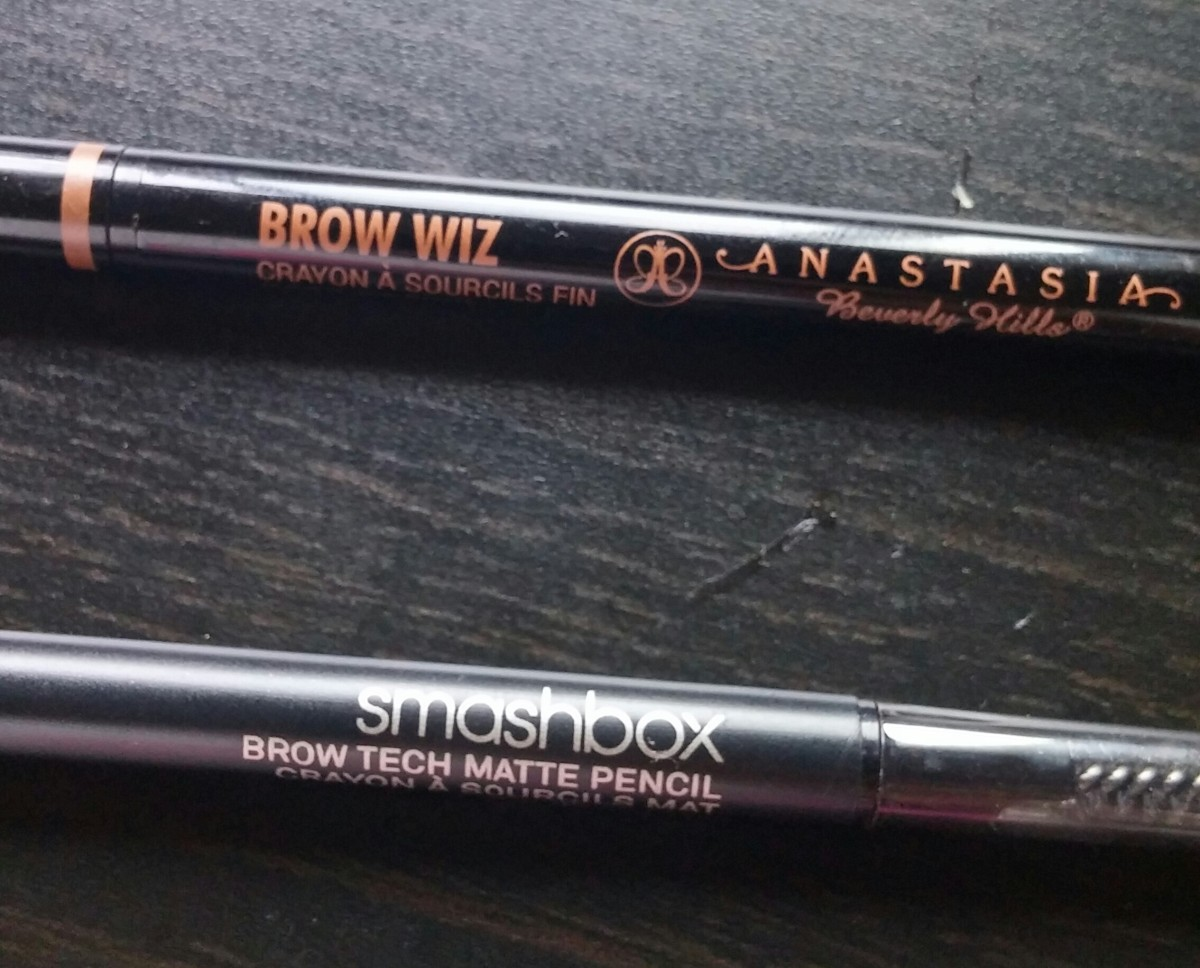 Anastasia 'Brow Wiz' vs. Smashbox 'Brow Tech Matte Pencil' Battle/Review