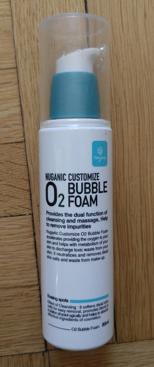 Nuganic Customize 'O2 Bubble Foam' Review