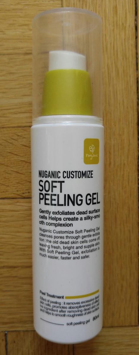 Nuganic Customize 'Soft Peeling Gel' Review